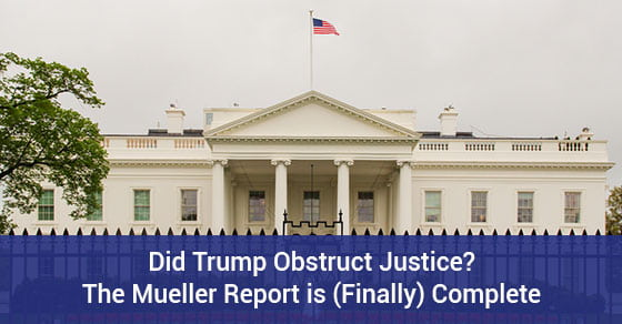 Mueller report on Trump