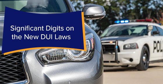 Significant Digits on the New DUI Laws