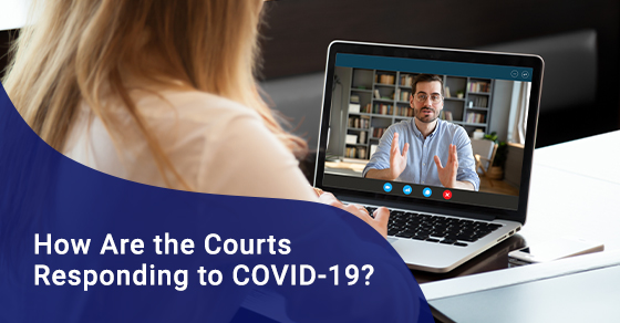 Court's response to COVID-19